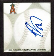 Abel De Los Santos (Debut 2015 ) LAA WAS CIN SIGNED AUTOGRAPH AUTO 3x5 INDEX COA