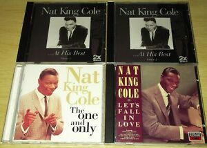Four x CD Albums From Nat King Cole. All Listed. All Cases & Artwork Included