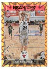 2017-18 Hoops LAURIE MARKKANEN ORANGE Explosion serial numbered /75 Mint RC #257