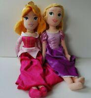 Disney Princess Ariel Belle & Rapunzel Plush Dolls 50cm Toys Soft Stuffed Kids