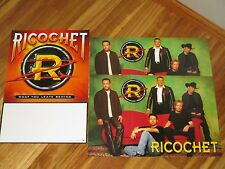 Ricochet-(what you leave behind)-lot of 3 Poster Flat-2 Sided-12X18-Nmint- #827