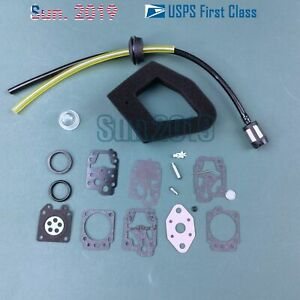 K10-WY CARBURETOR REPAIR KIT  FITS ECHO SRM2000 SRM2200 SRM2500 SRM3000 CARB