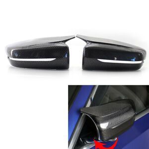 FOR BMW G30 G20 2017-2020 M STYLE Carbon Fiber LOOK SIDE WING MIRROR COVER CAP