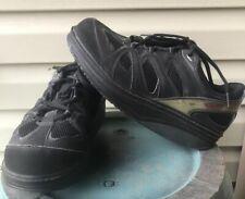 MBT Men's Shoes Size 9 Black Toning Walking Strength Fitness Swiss EUR 39 2/3