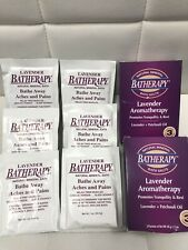Lot Of 6 Packs Queen Helene Batherapy Natural Mineral Bath Salts Lavender Scent