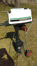 Gamefisher 5hp 1980 outboard motor Running Long Shaft