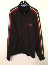 Adidas Originals ADI-Firebird Track Top Jacket RASTA JAMAICA Size S 680893