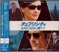 "James Newton Howard ""DUPLICITY"" soundtrack score Japan CD SEALED"