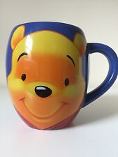 Disney Tams Winnie The Pooh Blue Barrel Mug Cup B0113