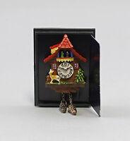 "9911030 Reutter Puppenstuben-Miniatur ""Kukuksuhr mit rotem Dach"""