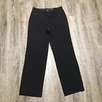 Bay Studio Career Elizabeth Women's Dress Pants ~ Sz 8R ~ Brown ~ Mid Rise