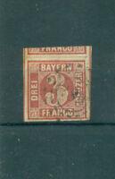 Bayern, Wertziffern im Quadrat, Nr. 9 Stempel 289