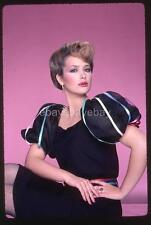 258S JANINE TURNER 1982 Harry Langdon 35mm Transparency w/rights
