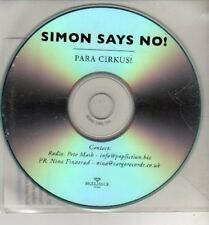 (CJ141) Simon Says No!, Para Cirkus! - DJ CD