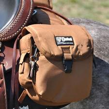 CASHEL Rear Saddle Bag Medium *TOP QUALITY*  BROWN Heavy Duty Denier New
