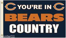 Chicago Bears Huge 3' x 5' Nfl Licensed Country Flag