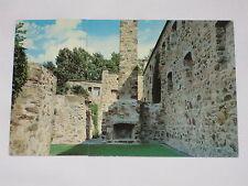 VINTAGE Fort Chambly National Historic Park Remains Postcard Quebec Chapel