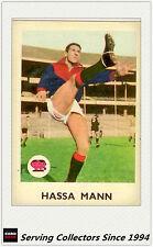 RARE -1965 VFL Scanlens Card #8 Hassa Mann (Melb)-Excel to Near Mint