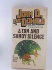 John D. MacDonald A TAN AND SANDY SILENCE Paperback