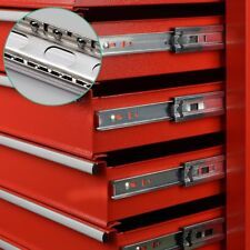 9-Drawer Tool Chest Box Red