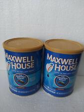 2 Cans MAXWELL HOUSE COFFEE Original MEDIUM ROAST GROUND 11.5 OZ