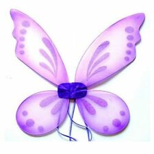 Purple Adult Tinkerbell Pixie Butterfly Fairy Wings Dress Up Girls Costume