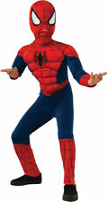 Morris Costume Boys Long Sleeve Spiderman Muscle Complete Outfit 4-6. Ru620010Sm