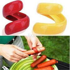 Healthy Spiral Hot Dog Cutter Slicer Fruit Sausage Cutter Slice Barbecue Tool CA