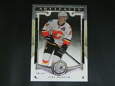 2015-16 UD Artifacts Base Card #98 Jiri Hudler Calgary Flames