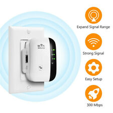 Super Boost WiFi Range Extender Up to 300Mbps Repeater WiFi Signal Booster