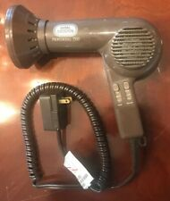 Vintage Vidal Sassoon Misty Tone 1500 Watts Professional Dryer with Attachment