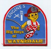 Fort Wayne Fire Department Engine 5 Patch Indiana IN
