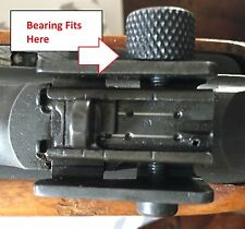 M1 Carbine Adjustable Rear Sight Aperture Steel Bearing (J.A.O. 160060)