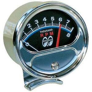 Moon Equipped TACHOMETER   MOONEYES   GOOD FOR CAR AND TRUCKS CLASSIC LOOK