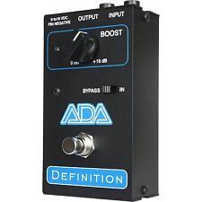 ADA Amplification Definition Clean Pickup Boost Discrete Custom Guitar Pedal NEW