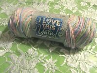 NEW I LOVE THIS YARN Pastel Iced Sugar Purple Soft Acrylic 142 g Medium Turkey