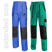 WORK TROUSERS - LONG LEG Mens  - Pants Painters Blue Green