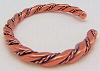 Copper Cuff Bracelet Wheeler Manufacturing Healing Arthritis Folklore cb 101 NEW