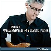 Tim Brady: Atacama: Symphonie No. 3 0722056267625 by Brady, CD, BRAND NEW
