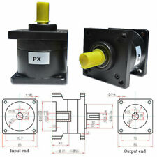 Nema34 Servo Planetary Gearbox Speed Reducer 16mm Input 3/4/6/10/16/24/36:1