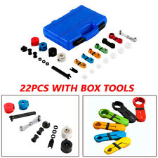 22pcs Fuel Oil Transmission A/C Line Disconnect Tool Set Universal For Car Truck