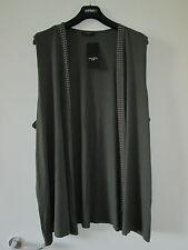Via Appia DUE  Luxus Shirt Top Tunika Kardigan Weste Gr. 52 NEU!