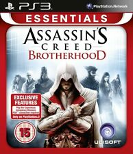 PS3 ASSASSINS CREED BROTERHOOD (15) ESSENTIAL COLLECTION 2010