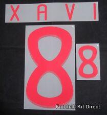 España Xavi 6 Copa del Mundo 2010 Camiseta De Fútbol Nombre/Número Conjunto de distancia
