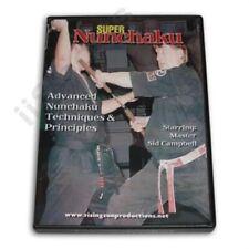 Super Nunchaku training Dvd Sid Campbell Karate TaeKwondo Kobudo Nunchucks chuks
