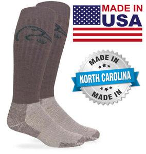 Ducks Unlimited Merino Wool Heavyweight Tall Long Over the Calf Big & Tall Socks