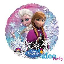 PALLONCINO mylar Disney FROZEN 45 cm Addobbi Feste Compleanno bambina