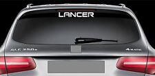 Rear Window Sticker fits Mitsubishi Lancer Vinyl Decal Emblem Sticker Logo RW51