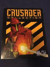 Crusader Collection No Remorse & No Regret Big Box Retro PC Game Classic