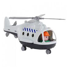 Wader Polesie Transport Hubschrauber Helikopter Kinder Spielzeug Heli 68828